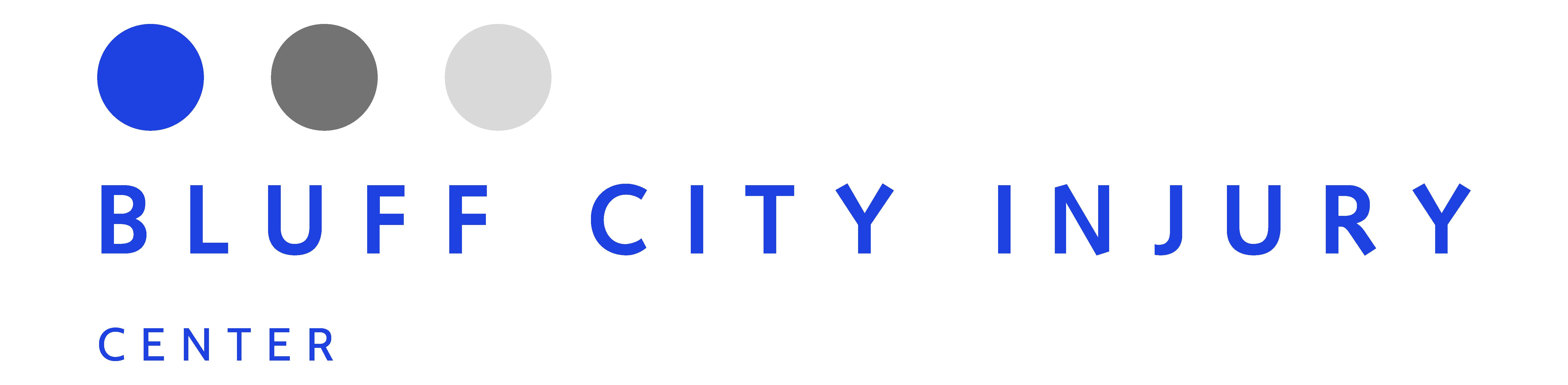 bluff city injury center logo
